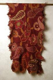 インド 刺繍入り♪カットワークフリンジウールストール(マフラー、ショール) 【送料無料!】【メンズ】【レディース】【アジアン】【プレゼント】【エスニック】【ポンチョ】【YDKG-f】