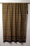 インド更紗アジラック草木染めコットンドゥパタ