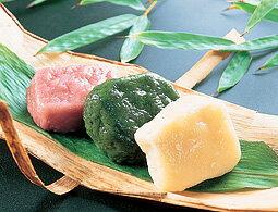 [餃子の王国]【いきなり団子】白・よもぎ・紫イモ、3つの味が楽しめるサツマイモのお団子です各2コ入×3つの味^^