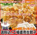 [餃子の王国]【送料込】工場直売生餃子 72個!(24個×3トレー)と、餃子のタレ10袋国産野菜に、九州産豚肉100%使用…
