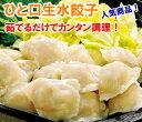 [餃子の王国]ひと口生水餃子 30個茹でるだけで簡単にできる「ひと口」サイズの水餃子