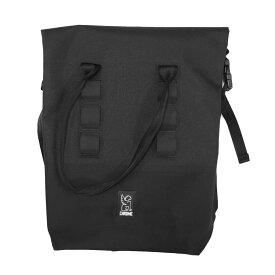 CHROME クローム SADDLE BAG ROLLTOP BAG [BLACK](トート ロールトップバッグ ウォータープルーフ 防水 自転車 bag バッグブラック 黒 )