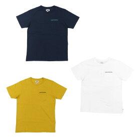 BANKS バンクス FEDERAL TEE [3色](半袖 Tシャツ メンズ レディース ユニセックス サーフ系 サーフィン オーガニックコットン ホワイト 白 ネイビー ブラウン カットソー) 【ネコポス】