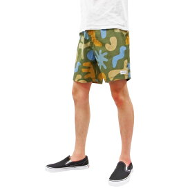 BANKS バンクス VENTURA BOARD SHORT PANT [COMBAT](メンズ ショートパンツ ショーツ ボードショーツ 水着 海パン 海 水陸 街履き サーフィン サーフ スケート 迷彩 ミリタリー 海 SEA )【送料無料】