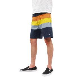 BANKS バンクス POINT BOARD SHORT PANT [DIRTY DENIM](メンズ ショートパンツ ショーツ ボードショーツ 水着 海パン 海 水陸 街履き サーフィン サーフ スケート ブルー 青 ボーダー 海 SEA )【送料無料】
