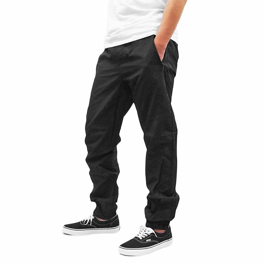 PRIMITIVE プリミティブ CREPED WARM-UP PANT [BLACK](パンツ ズボン ジョガーパンツ メンズ ブラック 黒 ) 【送料無料】