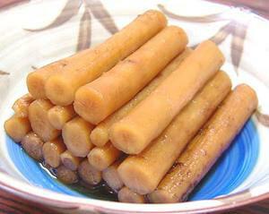 国産ごぼう醤油漬170g(お漬物)