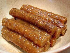 国産ごぼう味噌漬150g(お漬物)