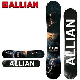送料無料 ALLIAN アライアン 板 スノー ボード NIRVANA ツインキャンバーメンズ スノーボード 紳士 154 男性 オールラウンド 20%off