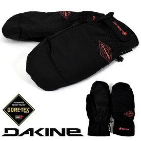 送料無料 スノーグローブ DAKINE ダカイン レディース SILVIA MITT GLOVE ゴアテックス GORE-TEX ブラック 黒 手袋 防寒 スノーボード スノボ スキー スノー グローブ 日本正規品 25%off