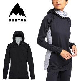 送料無料 長袖 Tシャツ バートン BURTON Women's Midweight X Base Layer Long Neck Hoodie レディース ロンT インナー ネック パーカー ベースレイヤー ファーストレイヤー スノボ スノーボード ウェア スキー 222021 20%off