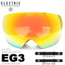 送料無料 スノーゴーグル ELECTRIC エレクトリック EG3 イージースリー アジアンフィット 日本正規品 メンズ レディー…