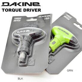 携帯用ドライバー ダカイン DAKINE TORQUE DRIVER ラチェット ドライバー バイン ギア メンテナンス 工具 ツール 携帯 スノボ スノーボード 日本正規品 20%off