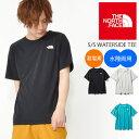 送料無料 水陸両用 半袖 ラッシュ Tシャツ THE NORTH FACE ザ・ノースフェイス S/S Waterside Tee ショートスリーブ …