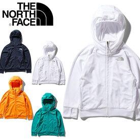 送料無料 紫外線防止 UV キッズ パーカー THE NORTH FACE ザ・ノースフェイス Sunrise Hoodie サンライズフーディー 子供 ntj11913 2020春夏新色 フルジップ