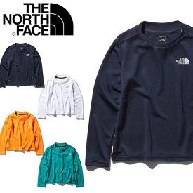 送料無料 紫外線防止 UV キッズ 長袖Tシャツ THE NORTH FACE ザ・ノースフェイス L/S Sunrise Tee ロングスリーブ サンライズ ティー 子供 ntj11914 2020春夏新色