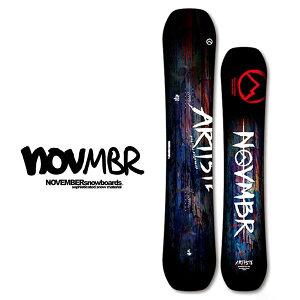 送料無料 NOVEMBER ノベンバー 板 スノー ボード ARISTE アーティスト メンズ スノボ 紳士用 スノーボード キャンバー 138 142 152 157 10%off