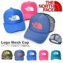 メッシュ キャップ ザ・ノースフェイス THE NORTH FACE Logo Mesh Cap キッズ ロゴ メッシュ キャップ 帽子 子供 遠足 紫外線防止...