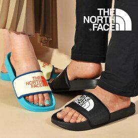 送料無料 軽量 ロゴ サンダル THE NORTH FACE ノースフェイス メンズ レディース Base Camp Slide II ベースキャンプスライドII 2021春夏新色 スポサン ビーチサンダル スポーツサンダル nf01940