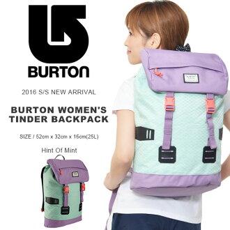 帆布背包伯頓BURTON redisutindapakku Tinder Pack 25L背包帆布背包日包包包旅遊戶外2016春天夏天新顔色25%off