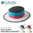 パッカブル アウトドアハット コロンビア Columbia メンズ レディース Elm Slope Packable Booney ブーニー 帽子 ハット HA...
