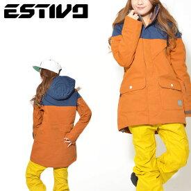 Mサイズのみ 送料無料 スノーボードウェア エスティボ ESTIVO PARADISE JKT レディース ジャケット スノボ スノーボード スノーボードウエア SNOWBOARD WEAR スキー SKI 30%off