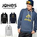 送料無料 プルオーバー パーカー JONES ジョーンズ メンズ TRUCKEE HOODY スノー パーカー フーディ フリース ロゴ インナー ギア スノボ...
