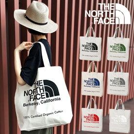 ザ・ノースフェイス THE NORTH FACE オーガニックコットン トートバッグ TNF ORGANIC COTTON TOTE メンズ レディース 20L エコバッグ NM81971 アウトドア