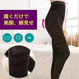 美脚スパッツ 加圧スパッツ スタイルレギンス 産後 むくみ 骨盤 矯正 M-L L-LL