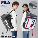 FILAフィラBOXボックス型バックパックラバープリントデイパックFM2017/デカリュック/ハコリュック/箱リュック/リュックサック/デイバックメンズレディースユニセックスカジュアル鞄通勤通学男女兼用旅行アウトドア