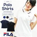 【ポイント5倍】 FILA フィラ ポロシャツ レディース カジュアル Tシャツ ゴルフウェア トレーニング スポーツ テニス…