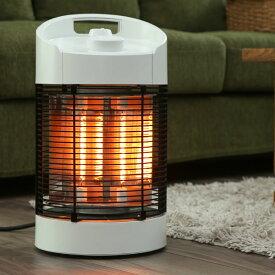 回転式 カーボンヒーター 360°120° 回転 即暖 暖房 軽量 省エネ 自動オフ機能 生活防水機能付き