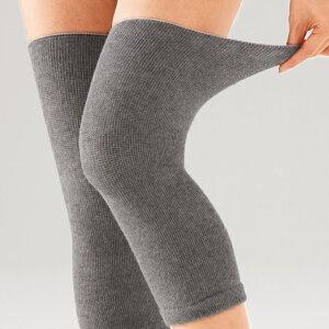 セルヴァン 洗える あったか 備長炭 膝サポーター ロング ひざロングサポーター 男女兼用 2足4枚組