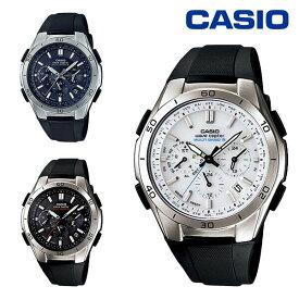 CASIO カシオ 腕時計 WAVE CEPTOR ウェーブセプター クロノグラフ ソーラー 電波時計 メンズ WVQ-M410