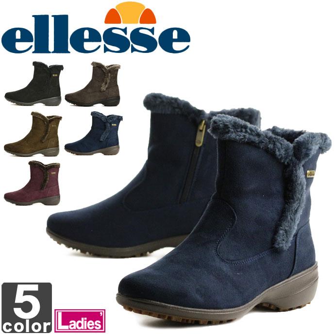 エレッセ【ellesse】レディース ウィンター ショート ブーツ V-WT711 1704 靴 シューズ ブーツ 雪道 スノーブーツ スノーシューズ 雪 タウンユース ウィメンズ 婦人