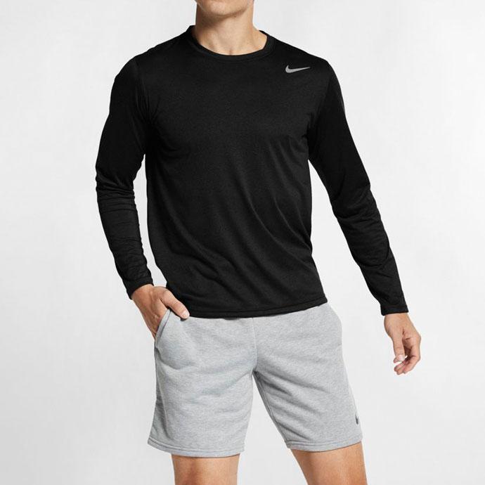 ナイキ【NIKE】 メンズ ドライフィット レジェンド 長袖 Tシャツ 718838 1802 DRI-FIT トップス シャツ 部屋着 練習着 部活 スポーツ 運動 トレーニング ランニング 紳士 男性