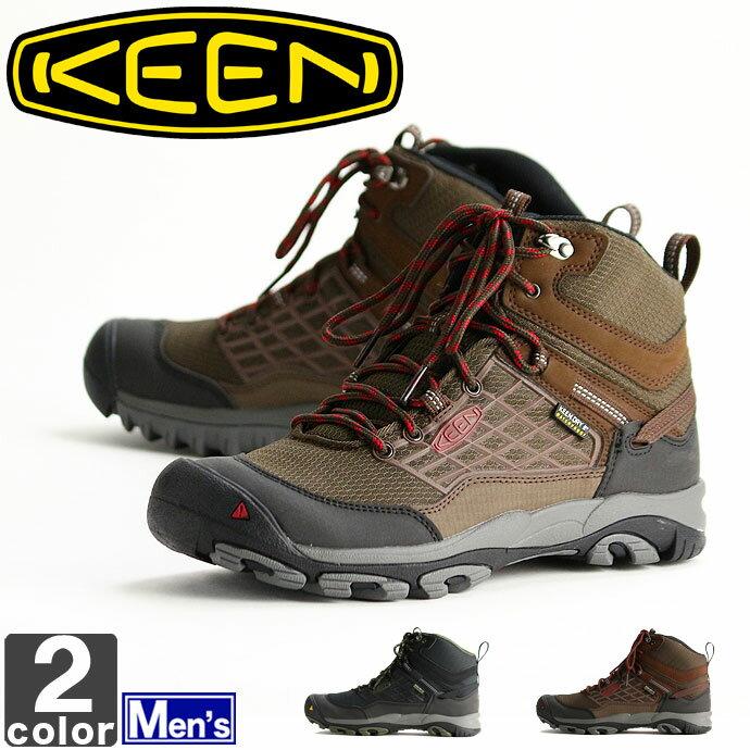 《送料無料》キーン【KEEN】メンズ サルツマン ウォータープルーフ ミッド 1013285 1013286 1710 靴 シューズ スニーカー ブーツ トレッキング 登山 防水 アウトドア 野外 旅行 レジャー 紳士 男性