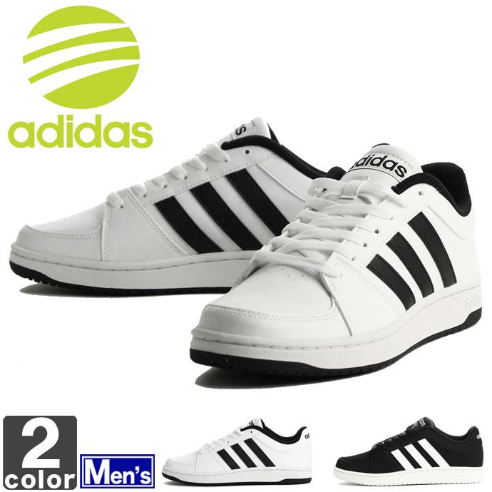 アディダス 【adidas】 メンズ ネオ フープス VS B74506 B74507 1704 NEO HOOPS スニーカー 靴 シューズ カジュアル 通勤 通学 ファッション コートシューズ 男性 紳士