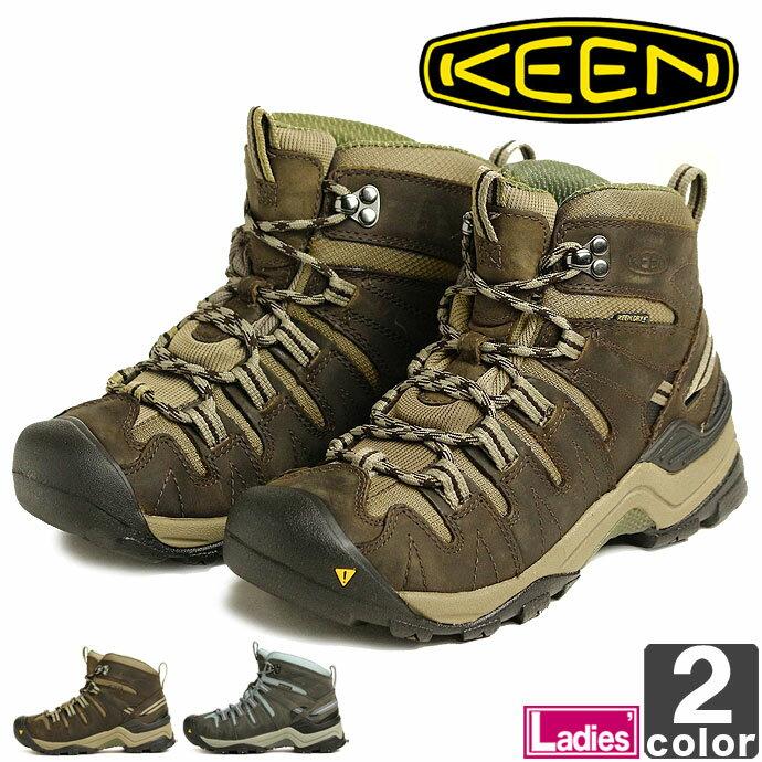 キーン【KEEN】レディース ジプサム ミッド 1007725 1009523 1710 防水 アウトドア キャンプ レジャー 靴 シューズ ハイキング トレッキング 山登り ウィメンズ 婦人