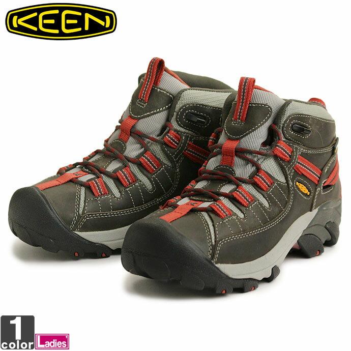 キーン【KEEN】レディース ターギー2 ミッド ウォーター プルーフ 1012248 1712 TARGHEE MID WP 靴 シューズ スニーカー レジャー 登山 防水 トレッキング 婦人 ウィメンズ