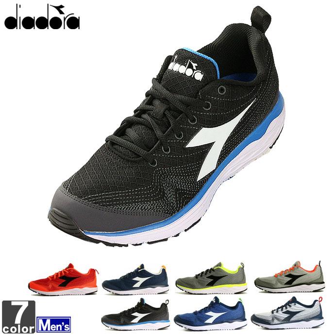 ディアドラ 【DIADORA】メンズ ランニングシューズ フラミンゴ 172873 1803 シューズ 靴 ジョギング マラソン トレーニング 運動 フィットネス FLAMINGO ランニング スニーカー 軽量