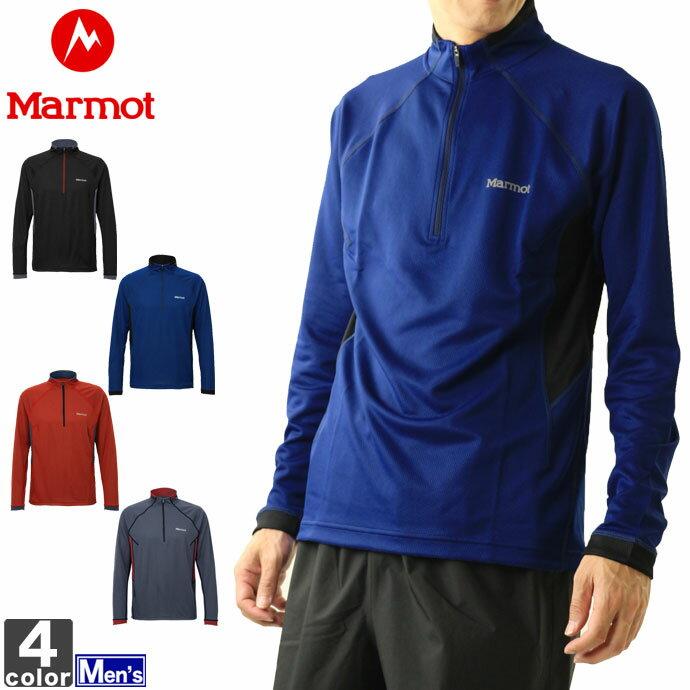 ■Marmotの長袖シャツ! HEAT NAVI MESH