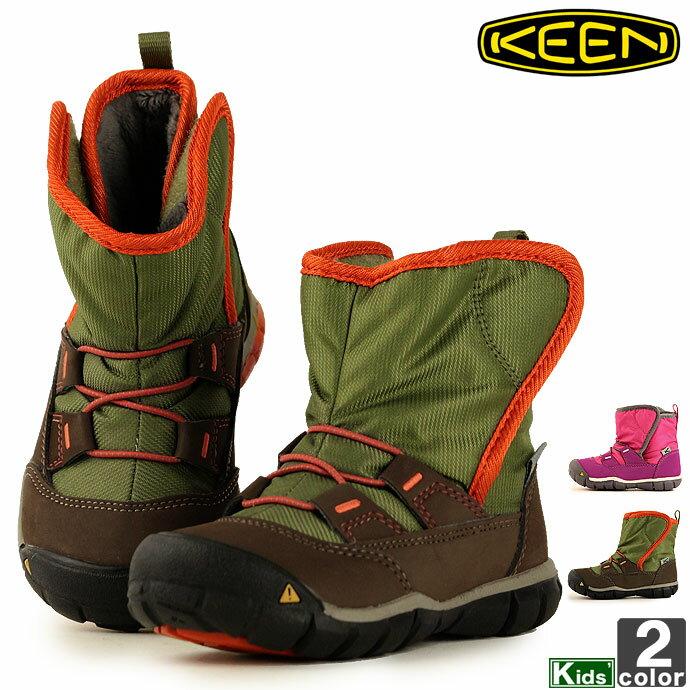 キーン【KEEN】ジュニア キッズ ピーク ア ブーツ 1015244 1015246 1811 靴 ブーツ 裏ボア 通学 通園 町履き タウンユース 旅行 シューズ ウインターブーツ