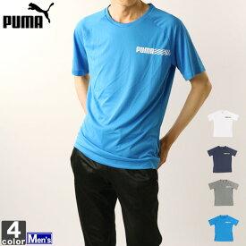 Tシャツ プーマ PUMA メンズ 844150 テックスポーツ SS Tシャツ 1907 ゆうパケット対応 丸首 半袖 クルーネック フィットネス ロゴTシャツ ショートスリーブ 吸汗速乾