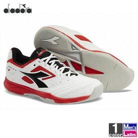 テニスシューズ ディアドラ DIADORA メンズ レディース 173007 スピード チャレンジ 2 カーペット 1912 テニス シューズ スニーカー 靴 カーペットコート 軽量 SPEED CHALLENGE CARPET