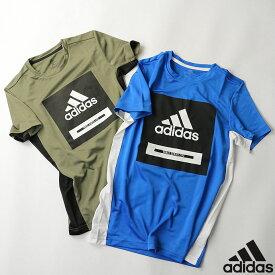 Tシャツ アディダス adidas ジュニア キッズ GSV77 ボールド 半袖Tシャツ 2007 半袖 カットソー フィットネス ジム ウェア 運動 スポーツ トップス ゆうパケット対応