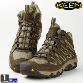 トレッキングシューズ キーン KEEN メンズ 1015305 オークリッジ ミッド ウォータープルーフ 2012 登山靴 ハイキング アウトドア キーンブーツ 防水 大きいサイズ トレッキングブーツ