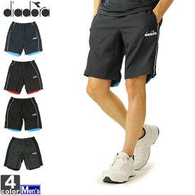 決算クーポンで20%OFF!テニスウェア ディアドラ DIADORA メンズ DTP9483 ウーブン ショーツ 2012 半パン ショーパン 短パン テニス ショートパンツ ゆうパケット対応