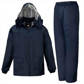 LOGOS(ロゴス) シーペットスーツ エース<総裏メッシュ> ネイビー M 23210283 1609 レインウェア レインコート 作業着 雨具 防水 男性 紳士