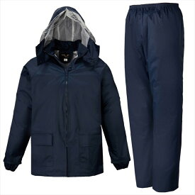 LOGOS(ロゴス) シーペットスーツ エース<総裏メッシュ> ネイビー 5L 23210287 1609 レインウェア レインコート 作業着 雨具 防水 男性 紳士